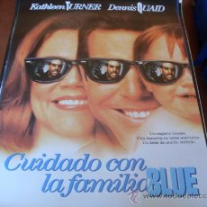 Cine: CUIDADO CON LA FAMILIA BLUE - KATHLEEN TURNER, DENNIS QUAID, FIONA SHAW, STANLEY TUCCI, TOM ARNOLD. Lote 27008040