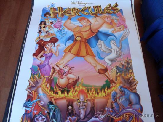 HERCULES -- ANIMACION WALT DISNEY (Cine - Posters y Carteles - Infantil)