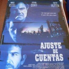 Cine: AJUSTE DE CUENTAS - HARVEY KEITEL, TIMOTHY HUTTON, LUCY LIU. Lote 25797508