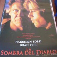 Cine: LA SOMBRA DEL DIABLO - HARRISON FORD, BRAD PITT - DIR. ALAN J. PAKULA. Lote 24022991