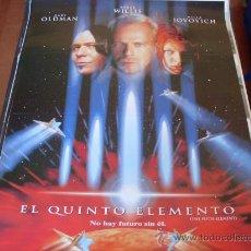 Cine: EL QUINTO ELEMENTO - BRUCE WILLIS, GARY OLDMAN, MILLA JOVOVICH - DIR. LUC BESSON. Lote 23866146
