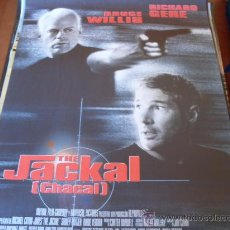 Cine: THE JACKAL ( CHACAL ) - BRUCE WILLIS, RICHARD GERE, SIDNEY POITIER, DIANE VENORA, LESLIE PHILLIPS. Lote 26105079