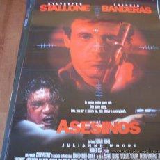 Cine: ASESINOS - SYLVESTER STALLONE, ANTONIO BANDERAS, JULIANNE MOORE -DIR. RICHARD DONNER. Lote 27022425