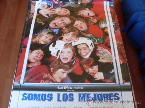 SOMOS LOS MEJORES - EMILIO ESTÉVEZ, JOSS ACKLAND, LANE SMITH, HEIDI KLING, JOSHUA JACKSON (Cine - Posters y Carteles - Deportes)