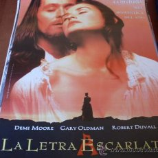 Cine: LA LETRA ESCARLATA - DEMI MOORE, GARY OLDMAN, ROBERT DUVALL, EDWARD HARDWICKE. Lote 26935143