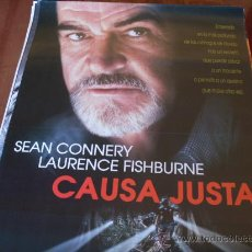 Cine: CAUSA JUSTA - SEAN CONNERY, LAURENCE FISHBURNE, ED HARRIS, KATE CAPSHAW, BLAIR UNDERWOOD. Lote 27085636