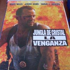 Cine: LA JUNGLA DE CRISTAL 3 LA VENGANZA - BRUCE WILLIS, SAMUEL L. JACKSON, JEREMY IRONS. Lote 27085692