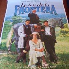 Cine: LA LEY DE LA FRONTERA - FEDERICO LUPPI, AITANA SÁNCHEZ-GIJÓN, ACHERO MAÑAS, PERE PONCE. Lote 26935147