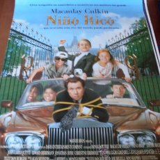 Cine: NIÑO RICO - MACAULAY CULKIN, CLAUDIA SCHIFFER,JONATHAN HYDE, EDWARD HERRMANN, JOHN LARROQUETTE. Lote 27085732