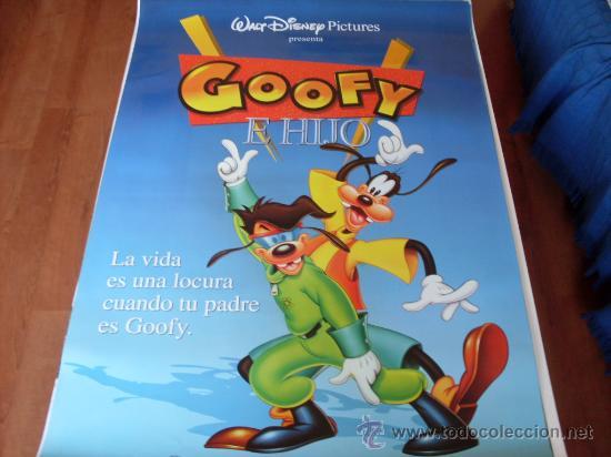 GOOFY E HIJO - ANIMACION - DISNEY (Cine - Posters y Carteles - Infantil)