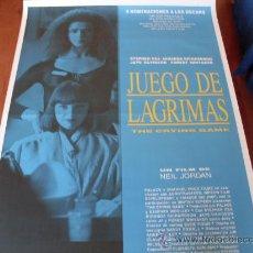 Cine: THE CRYING GAME JUEGO DE LAGRIMAS - STEPHEN REA, FOREST WHITAKER, JAYE DAVIDSON, MIRANDA RICHARDSON. Lote 180924167