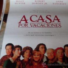 Cine: A CASA POR VACACIONES - HOLLY HUNTER, ROBERT DOWNEY JR., ANNE BANCROFT, GERALDINE CHAPLIN. Lote 27045761