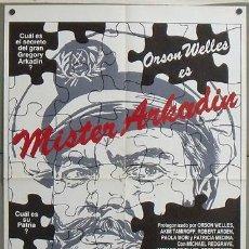 Cine: MH07 MISTER ARKADIN ORSON WELLES AMPARO RIVELLES POSTER ORIGINAL ESPAÑOL 70X100. Lote 19317566