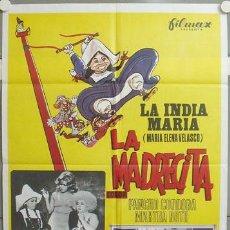 Cine: MH67 LA MADRECITA LA INDIA MARIA POSTER ORIGINAL ESTRENO 70X100. Lote 19385893