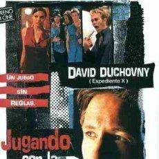 Cine: 'JUGANDO CON LA MUERTE', CON DAVID DUCHOVNY.. Lote 20554260