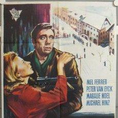 Cine: MI05 LEY DE GUERRA MEL FERRER PETER VAN EYCK POSTER ORIGINAL 70X100 ESTRENO. Lote 19399373