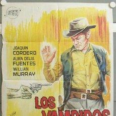 Cine: MI50 LOS VAMPIROS DEL OESTE JOAQUIN CORDERO POSTER ORIGINAL 70X100 ESTRENO. Lote 19418404