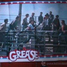 Cine: POSTER DE LA PELICULA GREASE, EN PAPEL, GRANDE. Lote 19523060