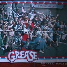 Cine: POSTER DE LA PELICULA GREASE, EN PAPEL, GRANDE. Lote 19523197