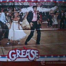 Cine: POSTER DE LA PELICULA GREASE, EN PAPEL, GRANDE. Lote 19523595