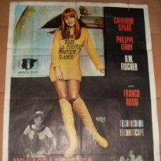 Cine: CARTEL ORIGINAL DE LA PELICULA NO HAGO LA GUERRA, PREFIERO EL AMOR. MEDIDAS 70X100 CM. AÑO 1967.. Lote 26184727