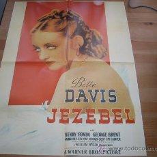 Cine: JEZABEL / BETTE DAVIS. Lote 27290145