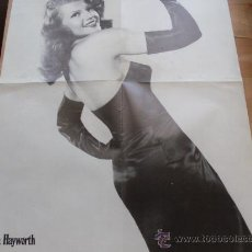 Cine: POSTER DOBLE RITA HAYWORTH / CLARK GABLE. Lote 25654454