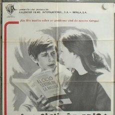 Cine: MK63 ADIOS CIGÜEÑA ADIOS MANUEL SUMMERS POSTER ORIGINAL ESTRENO 70X100. Lote 19563600