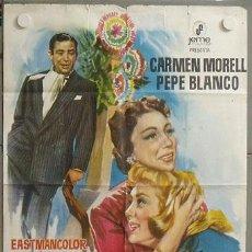 Cine: MK77 MARAVILLA PEPE BLANCO CARMEN MORELL POSTER ORIGINAL 70X100. Lote 19575261