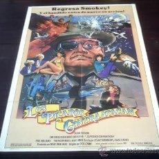 Cine: POSTER ORIGINAL SMOKEY AND THE BANDIT PART3 LOS CARADURAS 3 LOS PICAROS CONTRAATACAN DICK LOWRY 1983. Lote 19550801