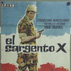 Cine: ML15 EL SARGENTO X CHRISTIAN MARQUAND LEGION EXTRANJERA POSTER ORIGINAL 70X100 ESTRENO. Lote 19591699