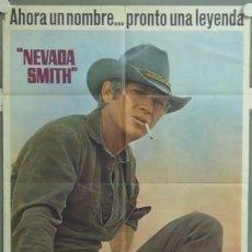 Cine: ML24 NEVADA SMITH STEVE MCQUEEN POSTER ORIGINAL 70X100 ESTRENO. Lote 19592434