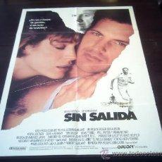 Cine: POSTER ORIGINAL NO WAY OUT SIN SALIDA NO HAY SALIDA KEVIN COSTNER GENE HACKMAN ROGER DONALDSON 1987. Lote 19699519