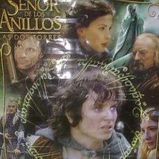 Cine: POSTER EL SEÑOR DE LOS ANILLOS - LAS DOS TORRES. Lote 19711646