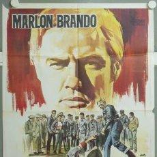 Cine: ML91 SALVAJE MARLON BRANDO JANO POSTER ORIGINAL 70X100 ESTRENO. Lote 19722905
