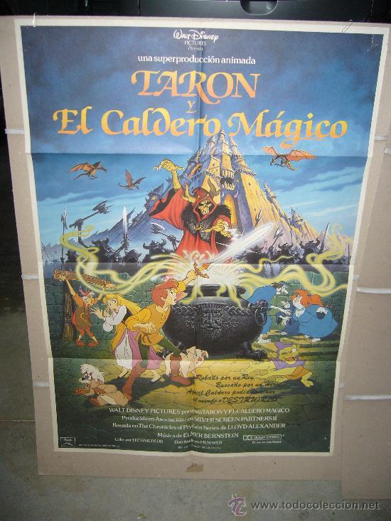 TARON Y EL CALDERO MAGICO DISNEY POSTER ORIGINAL 70X100 WW (Cine - Posters y Carteles - Infantil)