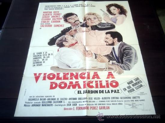 poster original el jardín de la paz violencia a - Comprar Carteles y ...