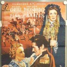 Cine: MN26 SANGRE EN CASTILLA SUSANA CANALES BENITO PEROJO POSTER ORIGINAL 70X100 ESTRENO LITOGRAFIA. Lote 19819513