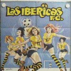 Cine: MN57 FUTBOL COLECCION 9 POSTERS ORIGINALES ESPAÑOLES 70X100. Lote 19845976