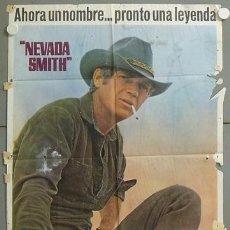 Cine: MP48 NEVADA SMITH STEVE MCQUEEN POSTER ORIGINAL 70X100 ESTRENO. Lote 19963726