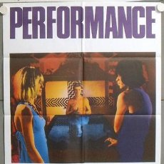 Cine: MP50 PERFORMANCE MICK JAGGER POSTER ORIGINAL 70X100 ESTRENO. Lote 19964081