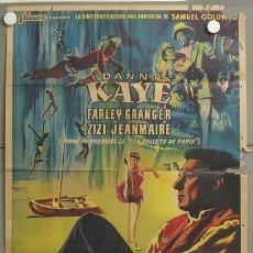 Cine: MP23 EL FABULOSO ANDERSEN DANY KAYE POSTER ORIGINAL ESPAÑOL 70X100 LITOGRAFIA. Lote 19960518