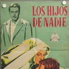 Cine: ZL95D LOS HIJOS DE NADIE AMEDEO NAZZARI YVONNE SANSON POSTER ORIGINAL 70X100 ESTRENO LITOGRAFIA. Lote 19960707