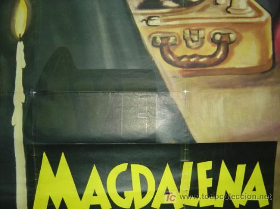 Cine: MAGDALENA PÉCHÉ D'AMOUR, SARA MONTIEL - AÑO 1961 (CARTEL FRANCES DEL ESTRENO) - Foto 5 - 26606308