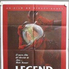 Cine: YH12 LEGEND RIDLEY SCOTT TOM CRUISE MIA SARA POSTER ORIGINAL 70X100 ESTRENO. Lote 19997325