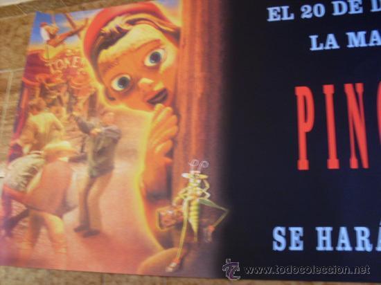 PINOCHO LA LEYENDA ( MARTIN LANDAU) GRAN FORMATO (Cine - Posters y Carteles - Infantil)