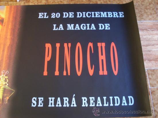 Cine: pinocho la leyenda ( martin landau) gran formato - Foto 2 - 23302440