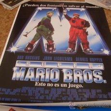 Cine: SUPER MARIO BROS (DENNIS HOPPER) GRAN FORMATO. Lote 23302459