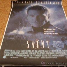 Cine: EL SANTO (VAL KILMER) GRAN FORMATO IMPORTACION. Lote 27554340