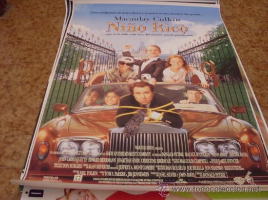 NIÑO RICO (MACAULAY CULKIN) GRAN FORMATO (Cine - Posters y Carteles - Infantil)